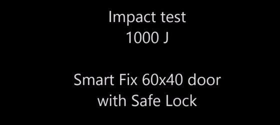 Troax Safe Lock 1000 J Impact Test video