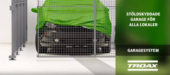 Troax garage video