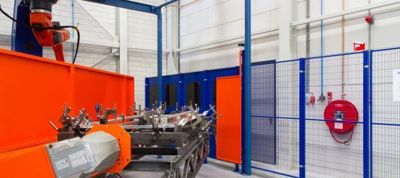 Troax Smart Fix, welding environment (1)