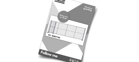 Follow Me - Sliding door on wheels 36907190