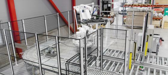 Troax Combi Fix, production environment